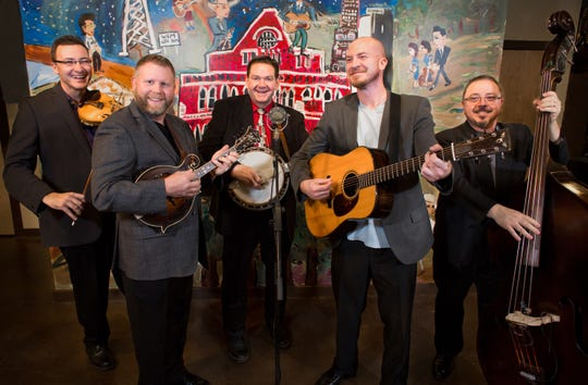 Bluegrass superstars Joe Mullins & the Radio Ramblers perform at Faith City Church in Titusville on Friday, Jan. 18.
