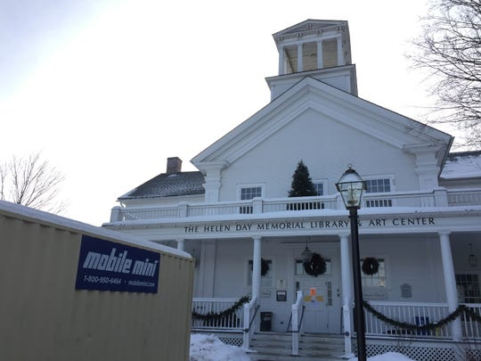 The building at 90 Pond St. that houses the Helen Day Art Center and Stowe Free Library will be closed for repairs until spring.
