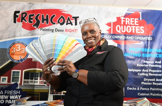 Former Food Bank of South Jersey CEO Val Traore retired from that job in May. She now owns Fresh Coat Painters of Burlington-Camden.