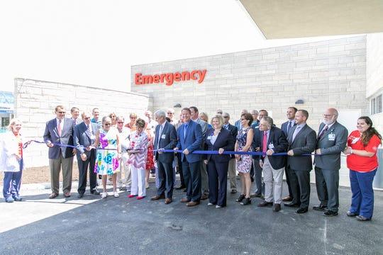 Adena Regional Medical Center New Emergency Department Ribbon Cutting.