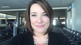 Kathrine goes live from CVG International Airport before she heads out of town.