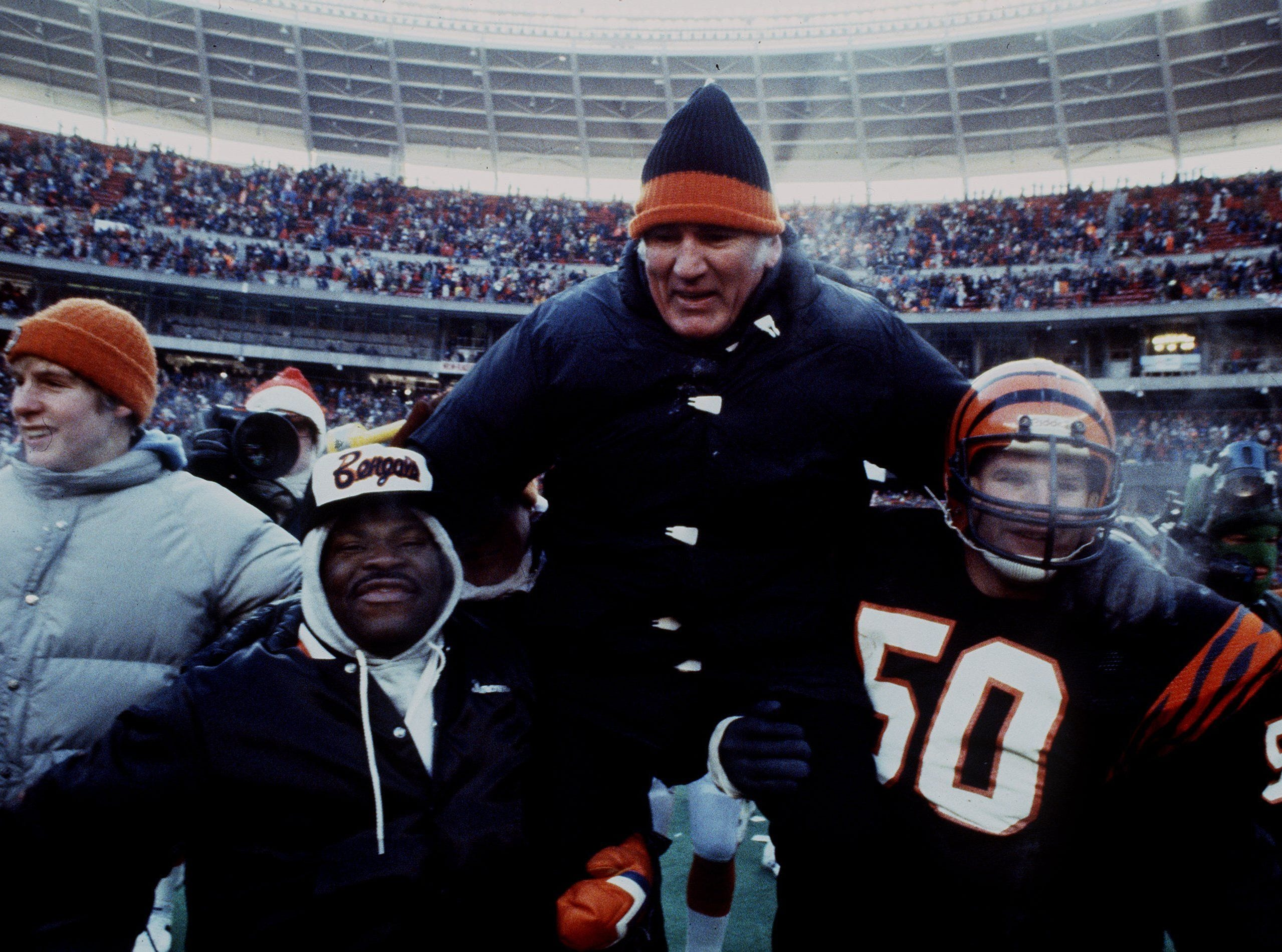 Enquirer file Forrest Gregg led the Bengals to the first Super Bowl in franchise history. Forrest Gregg led the Bengals to the first Super Bowl in franchise history.
