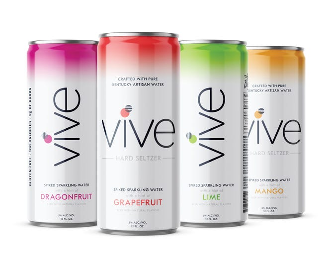 Vive, a hard seltzer from Braxton Brewing  Co. of Covington