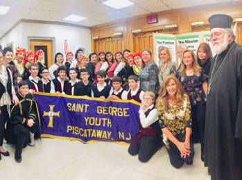 St. George Greek Orthodox Youth Association (GOYA) recently hosted Taverna Night, a fundraiser for Feeding Middlesex County.