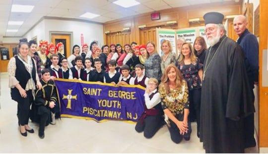 St. George Greek Orthodox Youth Association (GOYA) recently hostedTaverna Night, a fundraiserfor Feeding Middlesex County.