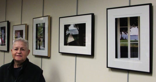 Works by Scott on view at library branch PHOTO CAPTION
