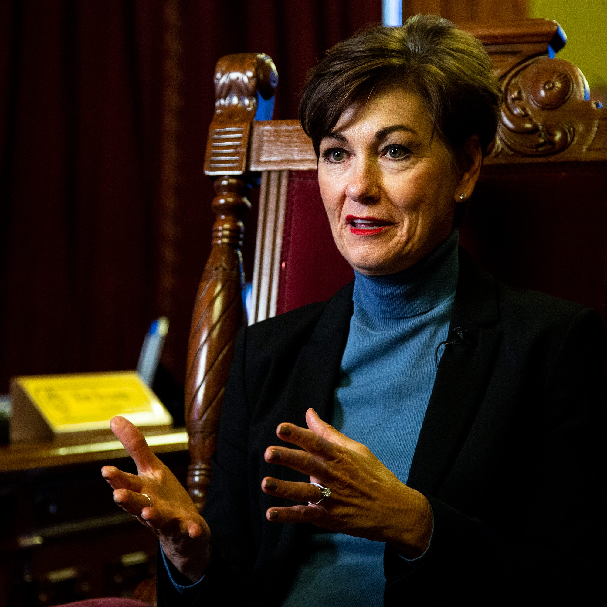 EXCLUSIVE: Gov. Kim Reynolds to propose constitutional amendment lifting felon voting ban in Condition of the State