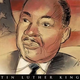 Register artist Mark Marturello sketches Martin Luther King Jr.