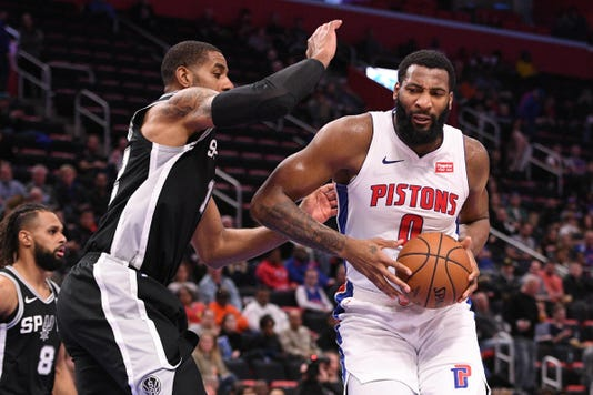 Nba San Antonio Spurs At Detroit Pistons