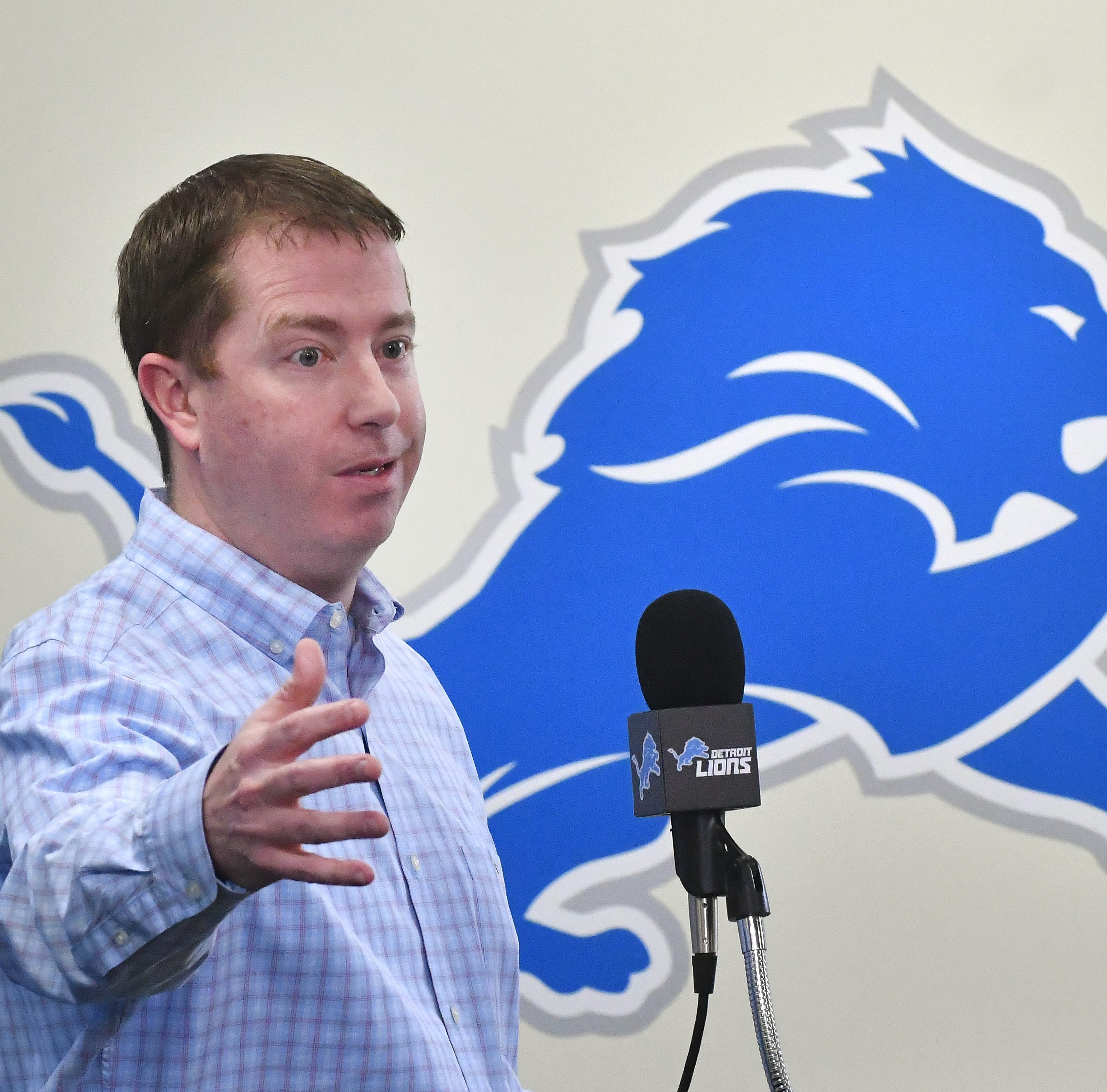 Lions will explore trade-up options in second round