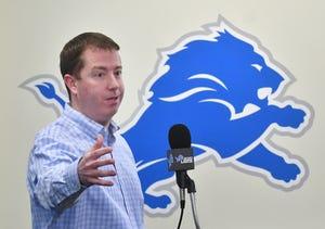 Lions GM Bob Quinn