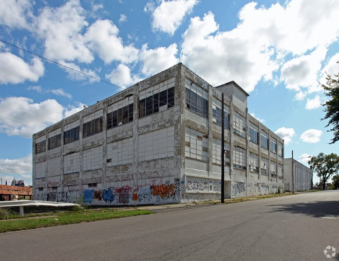 This Corktown warehouse at 1800 18th Street near the Ford train station has been bought by an entity linked to Dan Gilbert's Bedrock Detroit real estate firm.