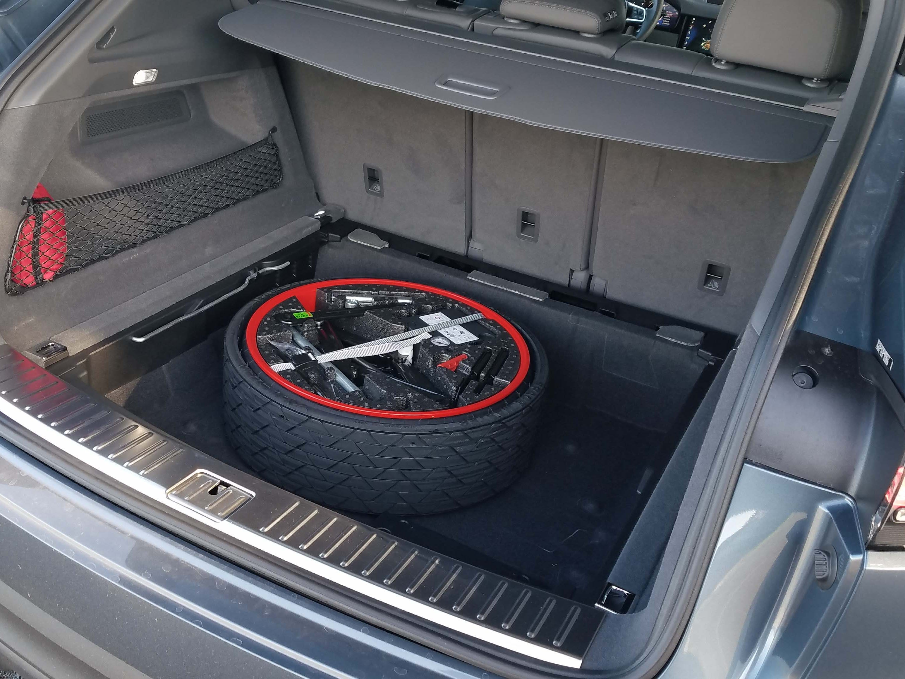 Spare tire for when you run over a sharp object while off-roading your 2019 Porsche Cayenne.