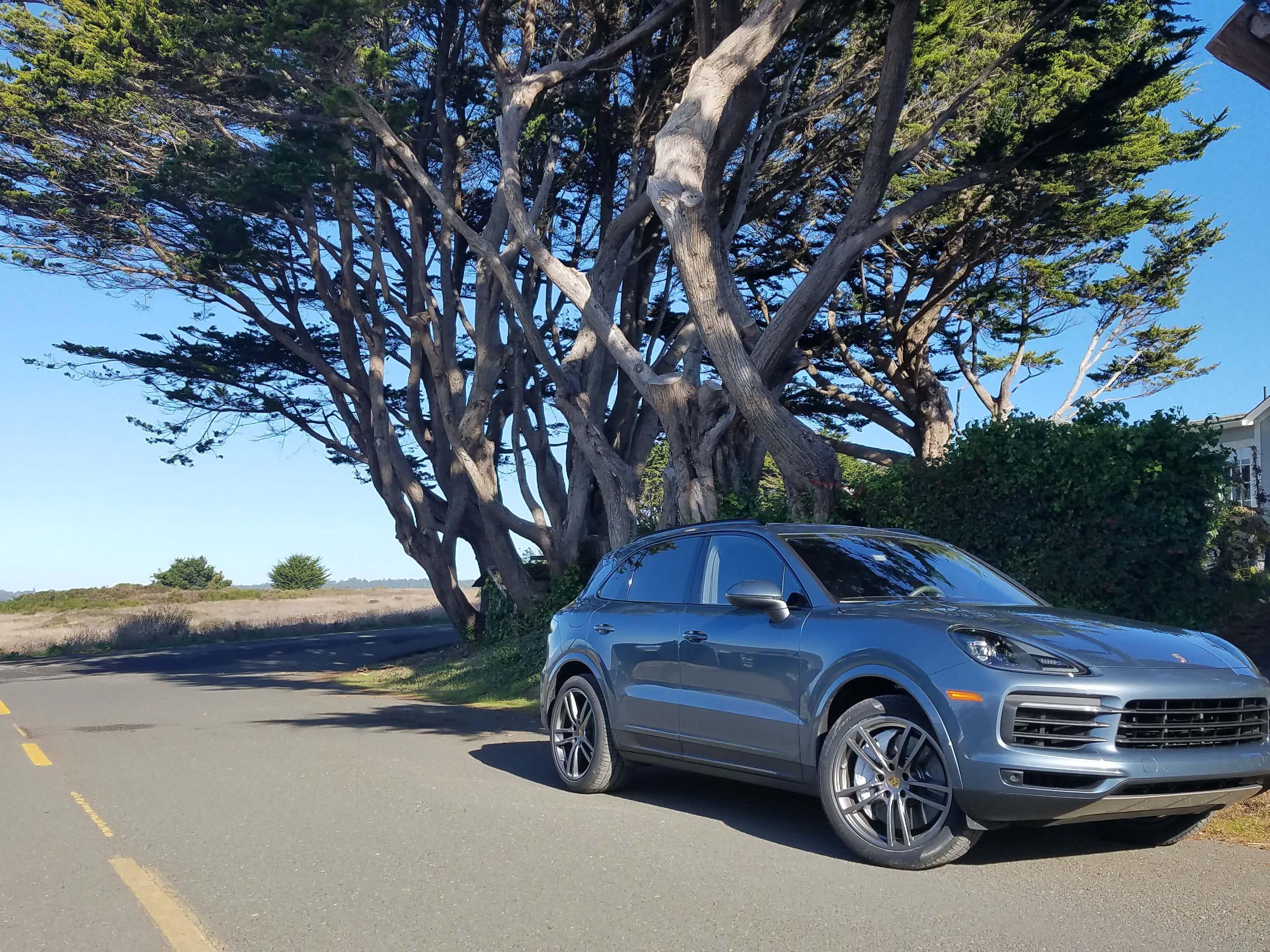 Home sweet home. The 2019, 335-horse, 152-mph, 5.6-sec-zero-60 Porsche Cayenne family ute.