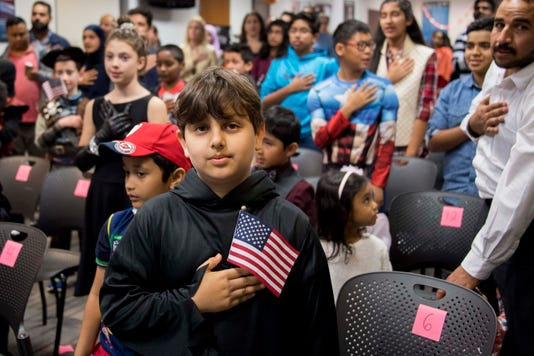 Us Nationality Citizenship Halloween Children