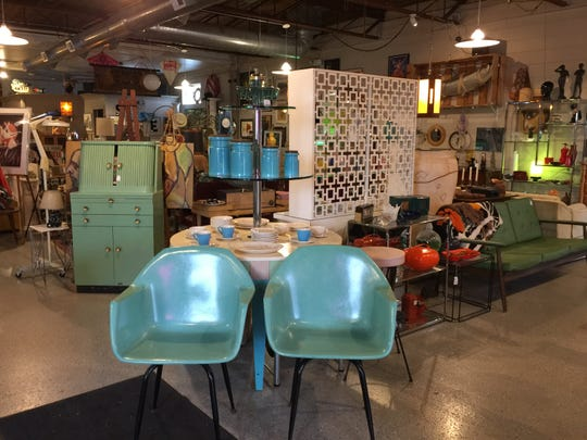 Vogue Vintage offers a variety of mid-century home decor and other antiques. It's open seven days a week in Ferndale.