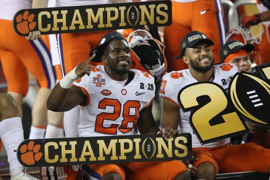 College Football Playoff National Championship Presented By At T Alabama V Clemson