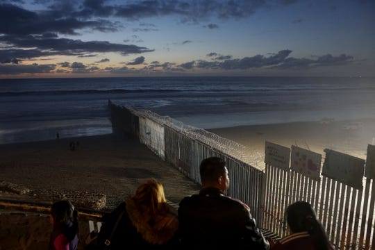 This is the U.S.-Mexico border fence at Las Playas on January 6, 2019 in Tijuana, Mexico. The U.S. government is going into the third week of a partial shutdown with Republicans and Democrats at odds on over President Donald Trump's demands for more money to build a wall along the U.S.-Mexico border.