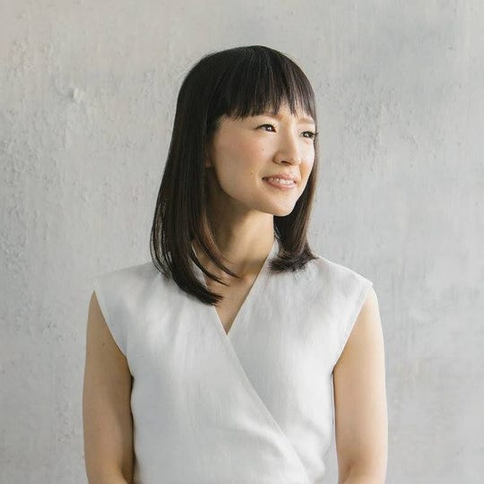"""Tidying Up with Marie Kondo"" premiered Jan. 1 on Netflix."