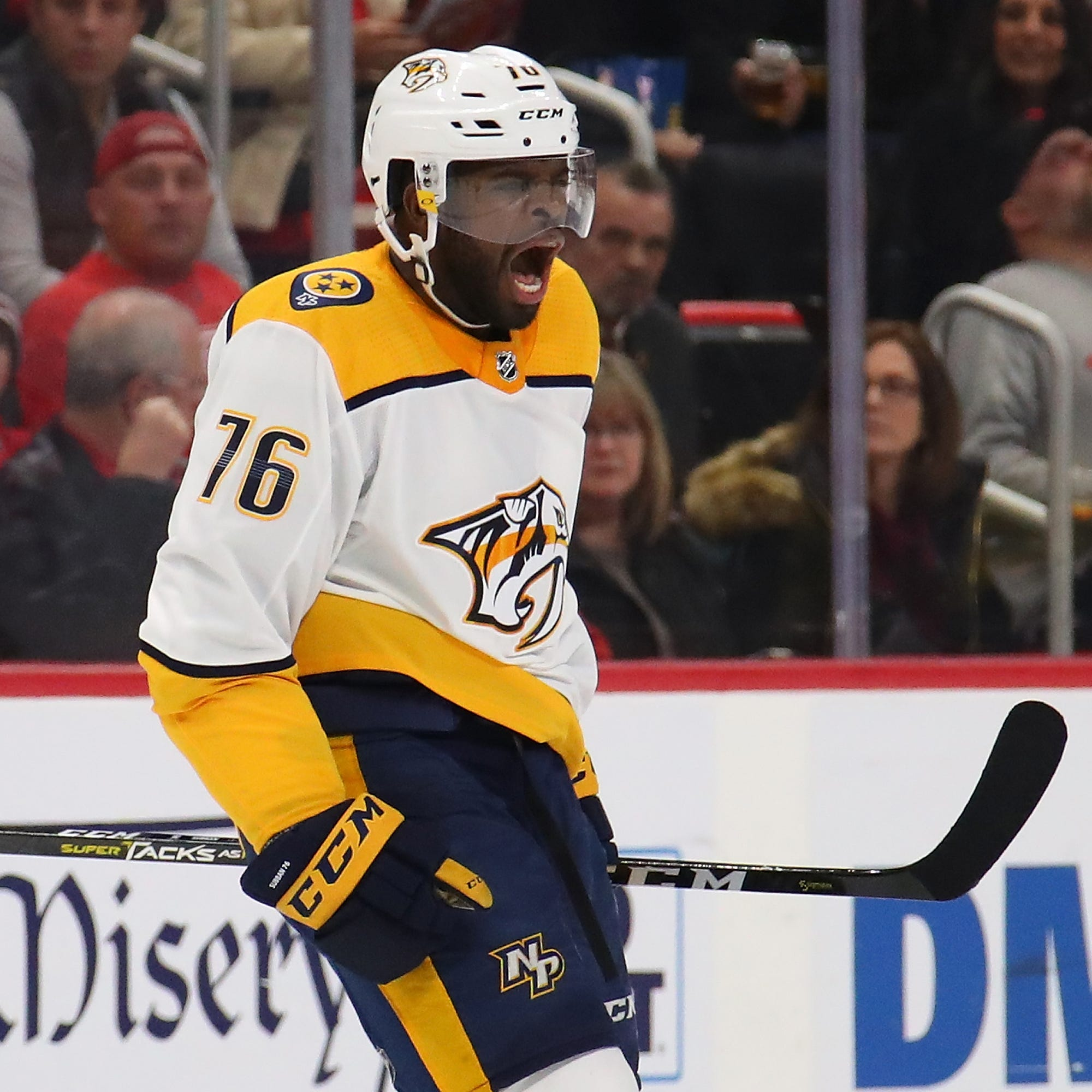 Predator star Subban inspires black youth player facing racial taunts