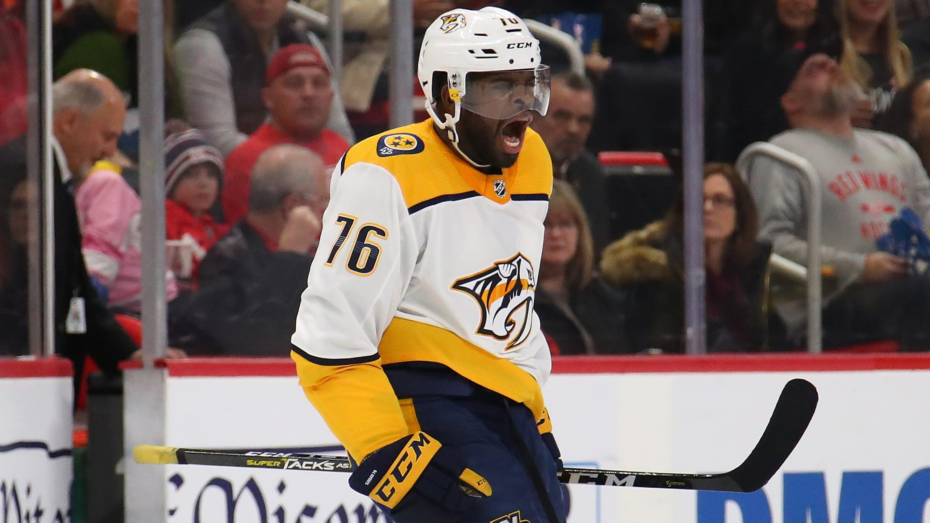 finest selection dd944 38403 Predator star Subban inspires youth player facing racial taunts