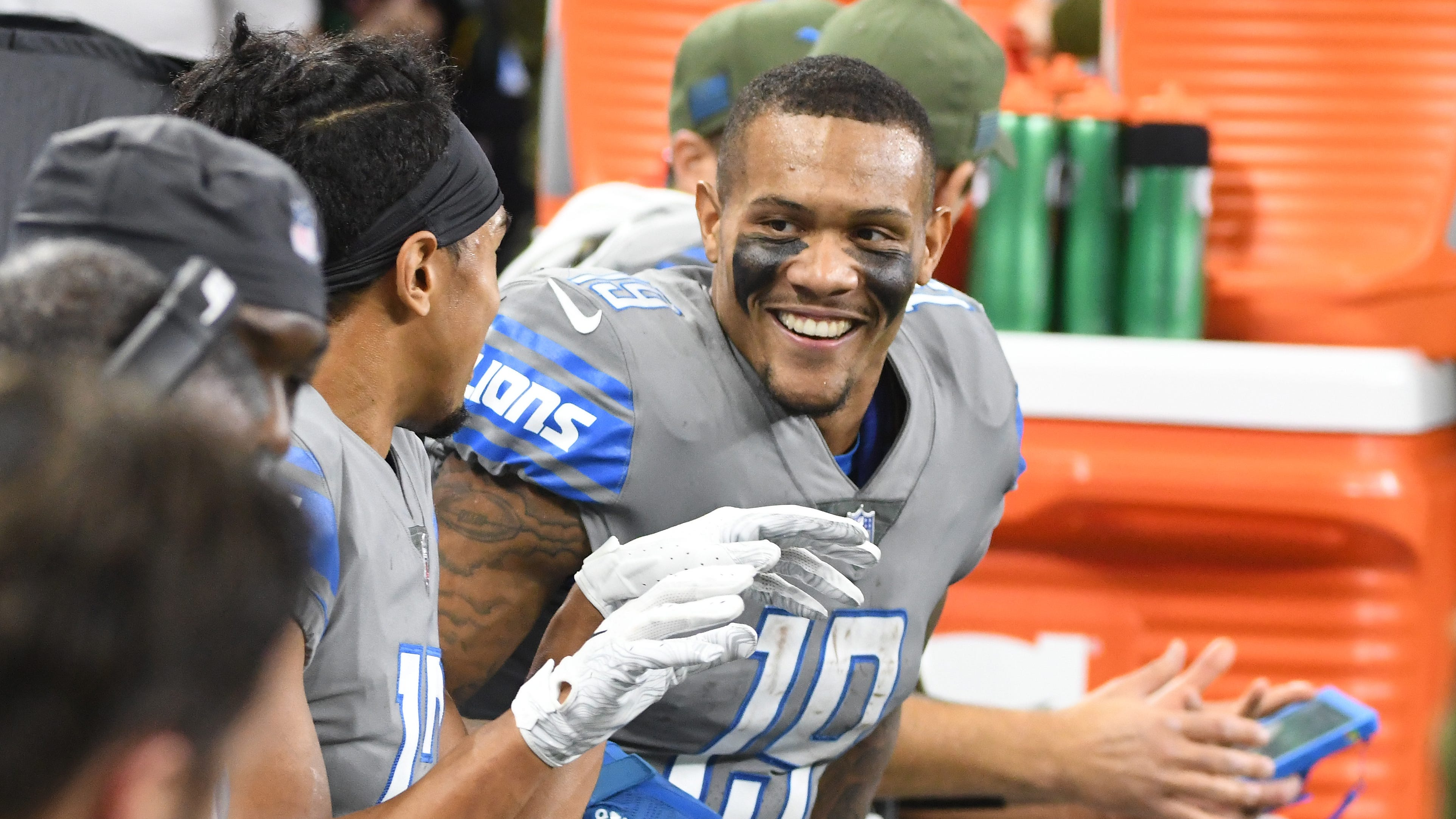 Lions' Danny Amendola already having positive impact on Kenny Golladay