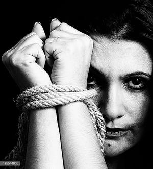 Often victims of trafficking aren't limited to those smuggled into this county.