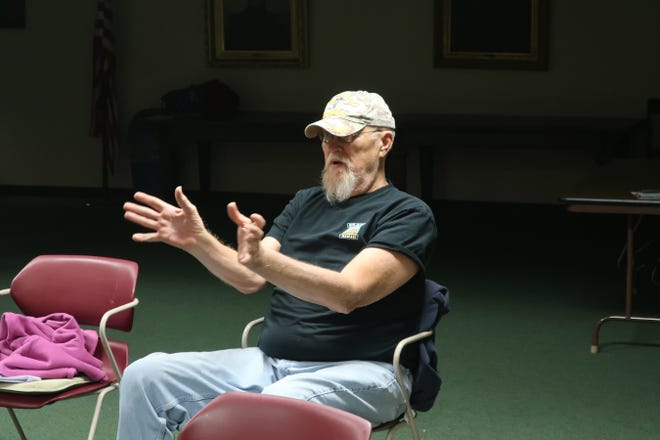 """A Vietnam veteran discusses the movie """"Hacksaw Ridge"""" after one of the Patriotism & Protest events that took place in October 2018."""