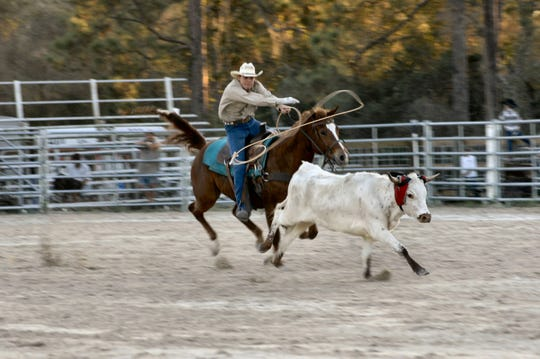 Veteran rodeo photographer Keith Lovejoy shot this photo at a past Cracker Day rodeo.