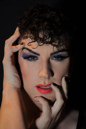 """PJ McCready stars as Hedwig in Lab Theater's rock musical """"Hedwig and the Angry Inch."""""""