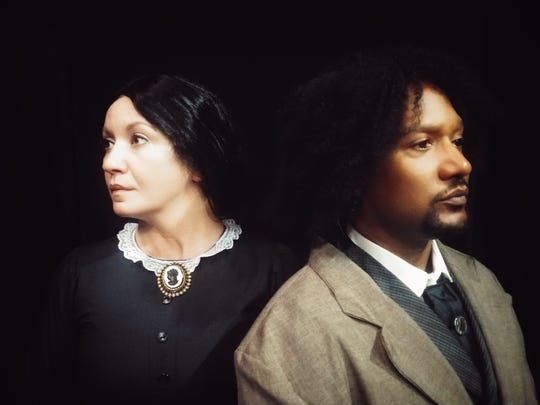 """The Agitators,"" a play about the relationship between Susan B. Anthony and Frederick Douglass, runs through Jan. 27, 2019, at the Theatre Conspiracy at the Alliance for the Arts in Fort Myers"