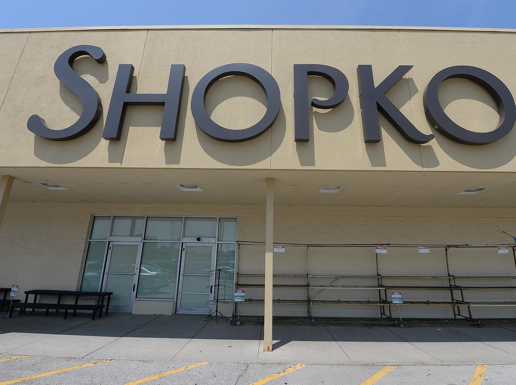 Shopko store on Military Avenue in Green Bay prior to the company's rebranding of its stores in 2015