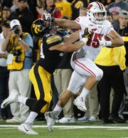 Former Wisconsin fullback Alec Ingold is hoping to make an impact in the NFL.