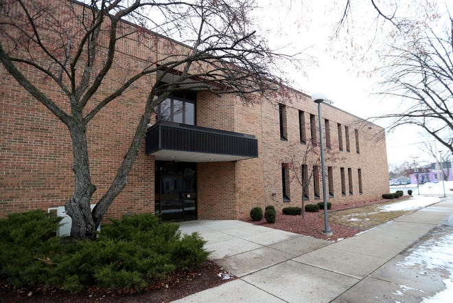 Office building at 701 Cherry Street that is scheduled to be converted to instructional space by the Green Bay Area Public Schools. The building formerly housed the Wisconsin job Center.