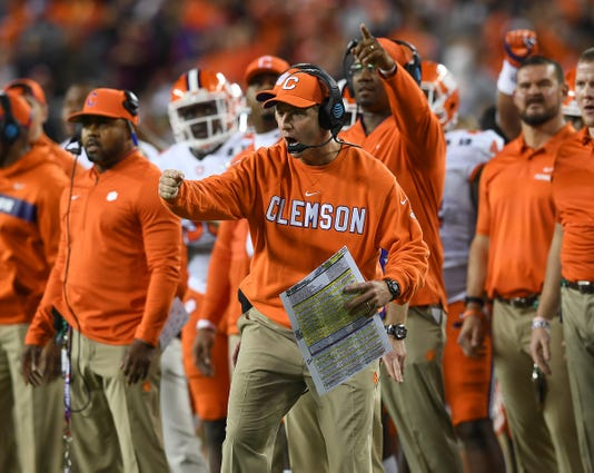 Clemson Alabama College Football National Championship