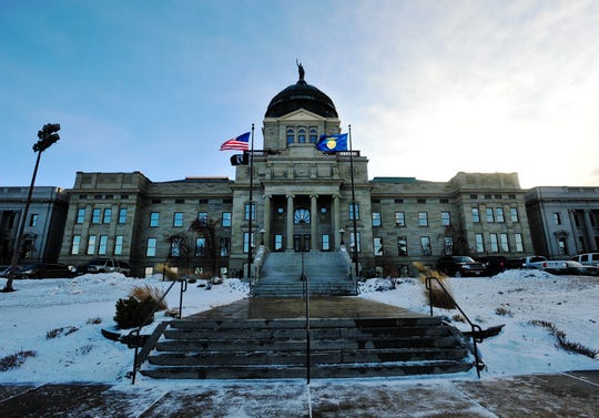 Montana State Capitol Building in Helena.
