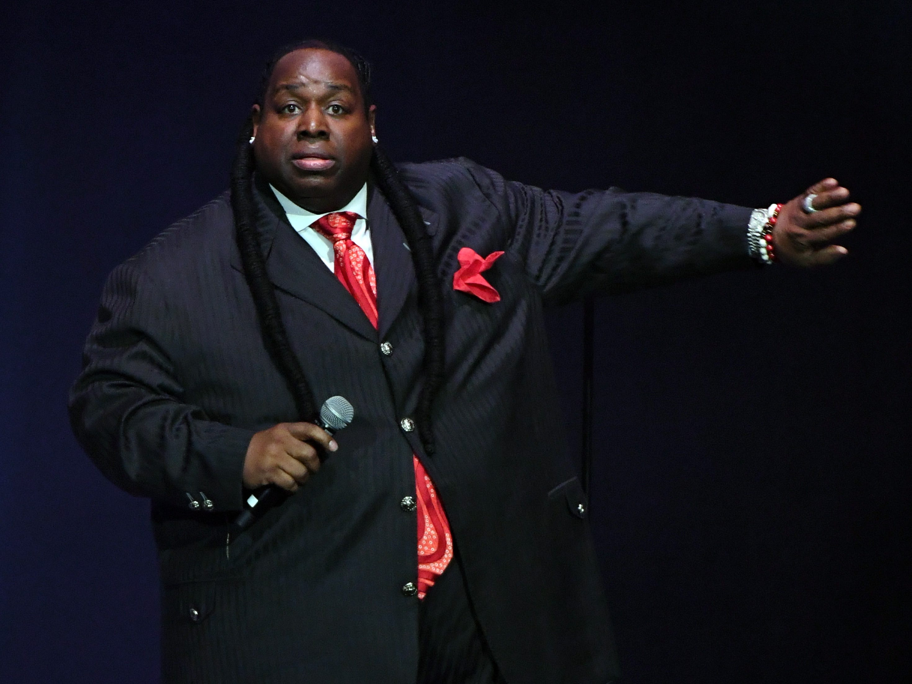 Bruce Bruce performs at Helium Comedy Club in Indianapolis on March 15-17, 2019.