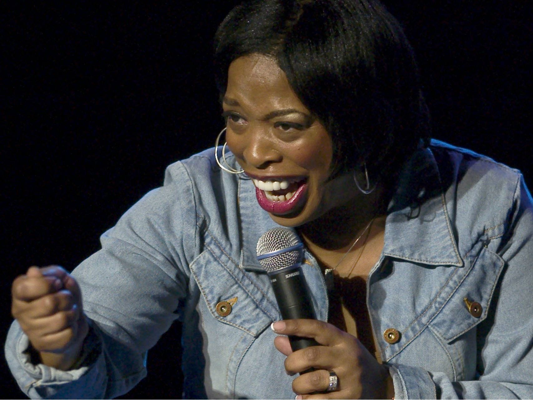Comedian Adele Givens performs at Helium Comedy Club in Indianapolis on Aug. 23-25, 2019.