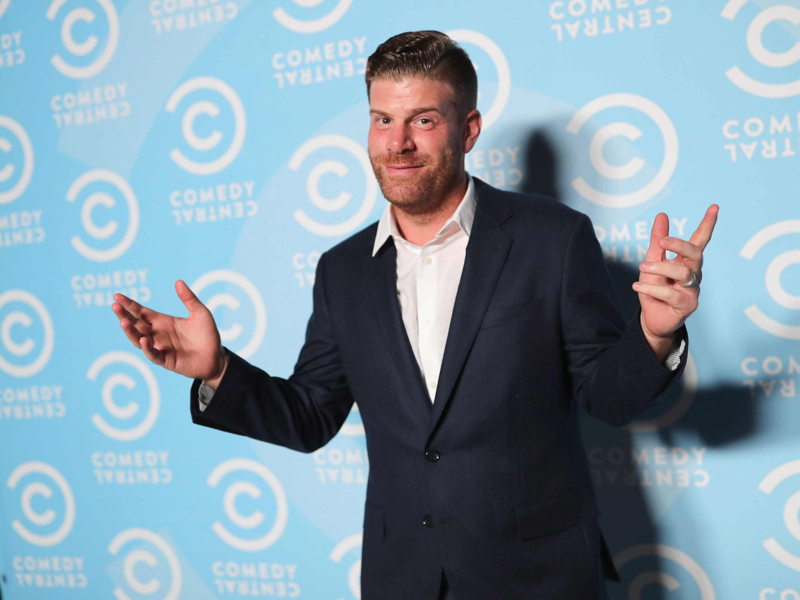 Stephen Rannazzisi performs at Helium Comedy Club in Indianapolis on March 21-13, 2019.