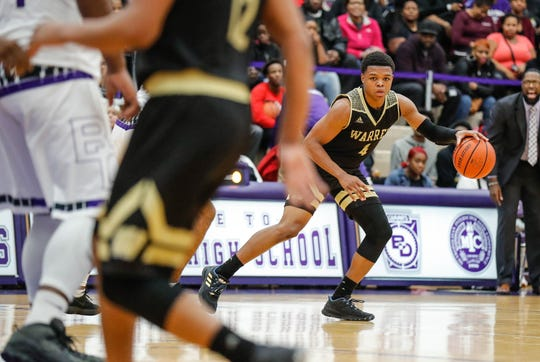 Warren Central's Manuel Brown Jr. (4) has been a nice addition to the lineup after transferring from Scecina.