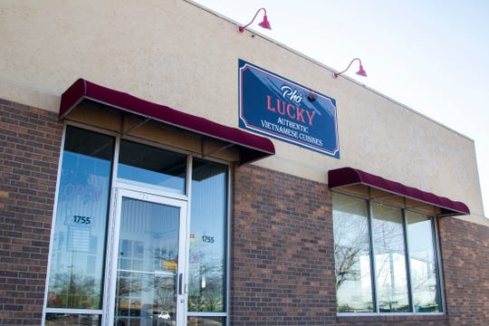 Pho Lucky is seen on Tuesday, Jan. 8, 2019, at 1755 Boyrum St., Iowa City, Iowa.
