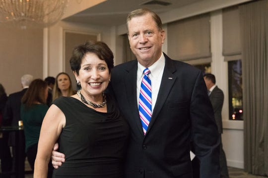 Pictured: Robert Brewer and his wife, retired U.S. District Court Judge Irma Gonzalez