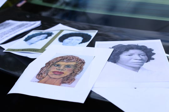 Serial killer Sam Little admitted to killing a Jackson woman in Pascagoula decades ago and dumping her body in a washout in an overgrown area off Greenwich Road in Moss Point. Little produced a photo of the victim, center, and said that a police composite sketch (right) was the woman he killed.