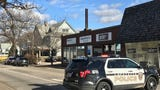 The officer was taken to Franciscan Health St. Elizabeth Hospital.