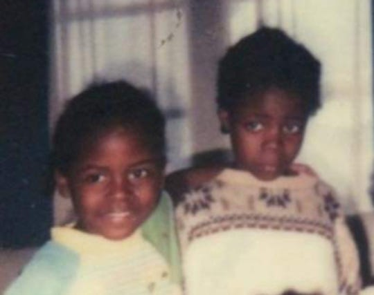 A photo of Talaya and Shawana as young girls.