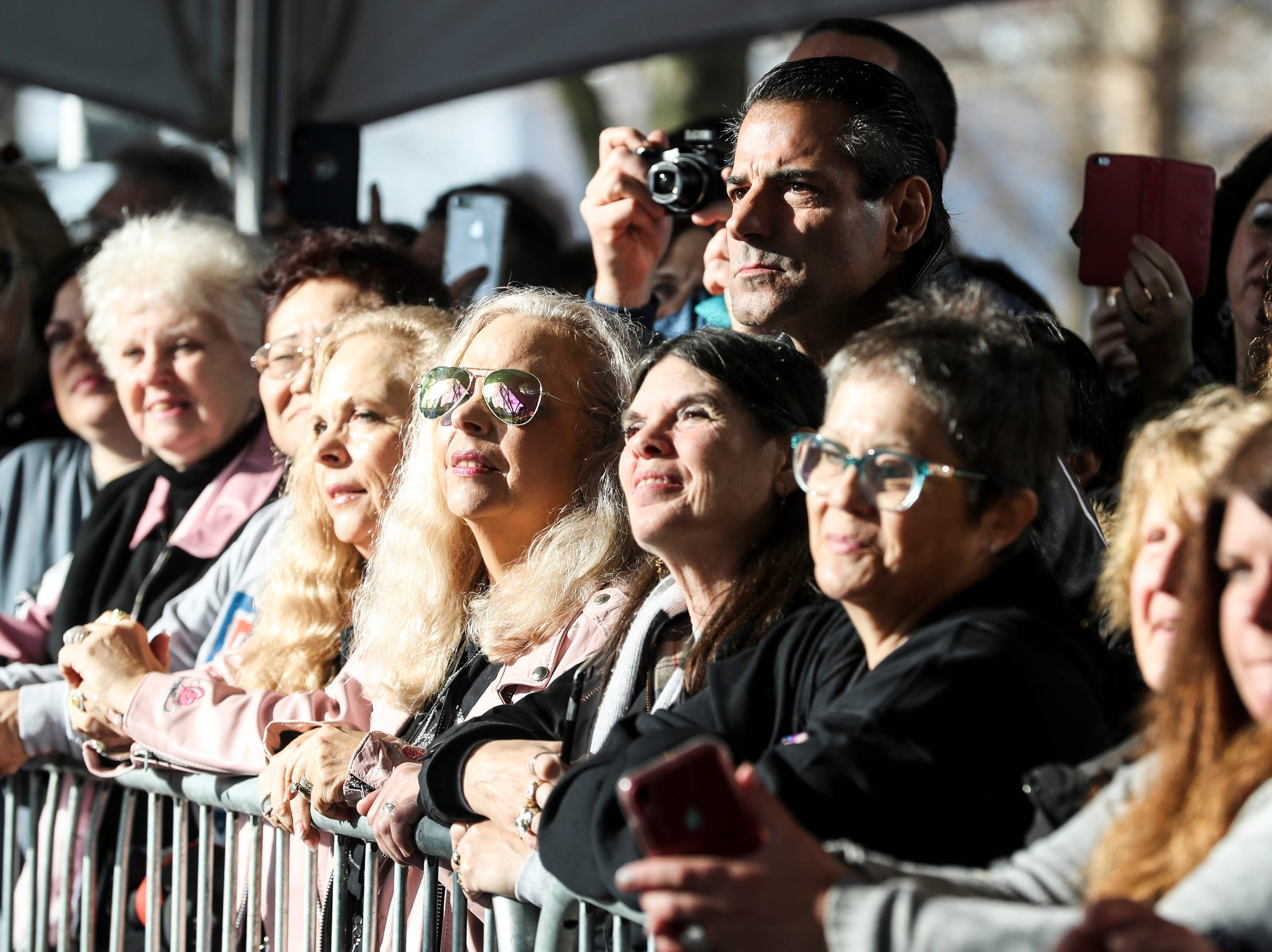January 08 2019 - Fans and officials gathered on Graceland's north lawn on Tuesday to celebrate during the Elvis Birthday Proclamation Ceremony. Tuesday would have been Elvis' 84th birthday.