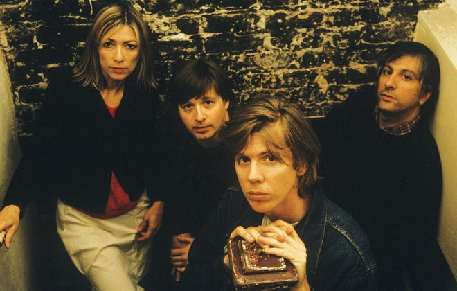 """Drummer Steve Shelley (second from left) will be in Memphis for a celebration of the 30th anniversary of the Sonic Youth album """"Daydream Nation."""" Other SY members include (from left)  bassist Kim Gordon; guitarist Thurston Moore; and guitarist Lee Ranaldo."""