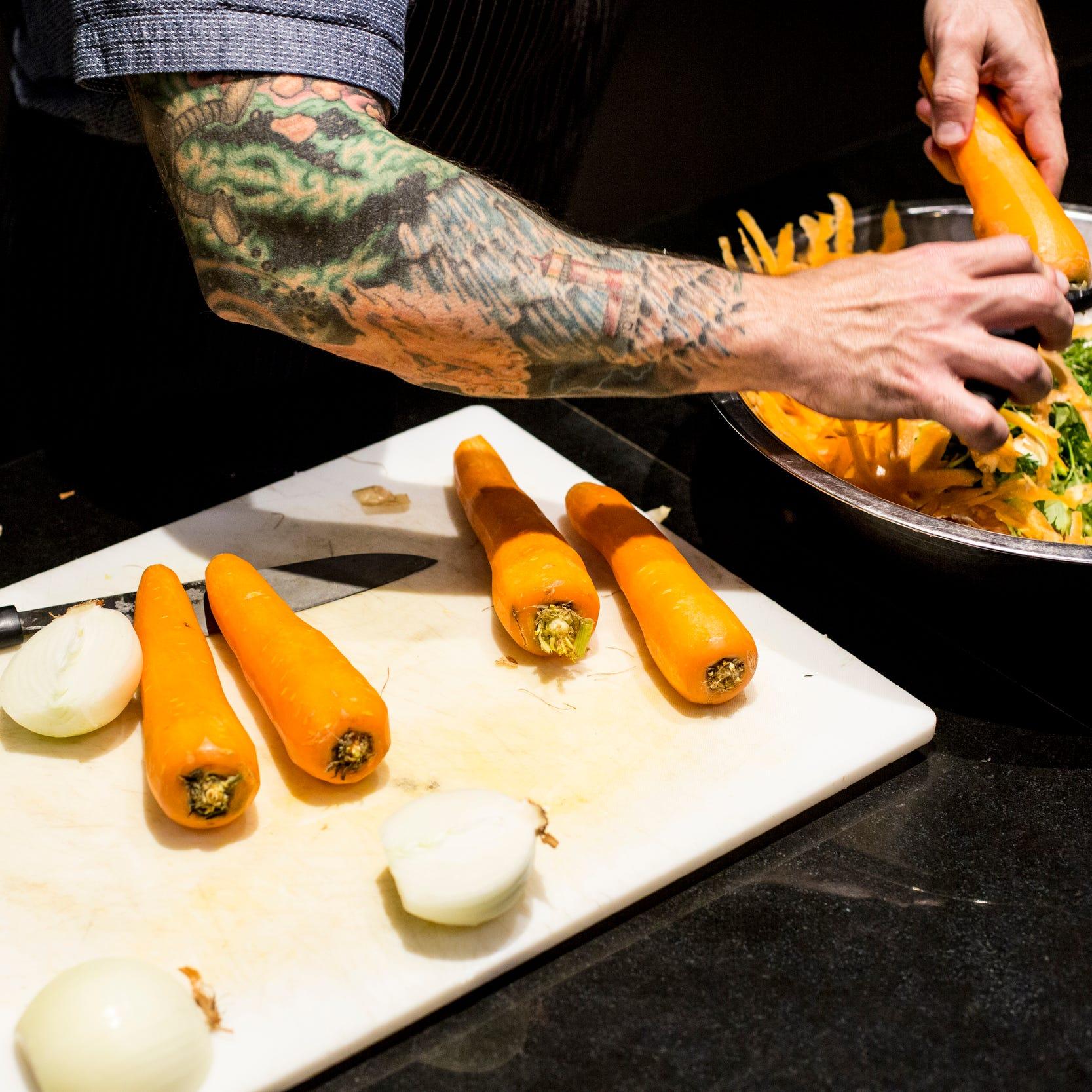 January 08 2019 - David Todd, executive chef at...