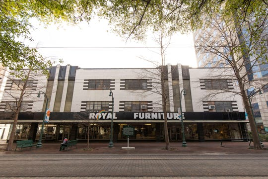 The Royal Furniture building on South Main Street near Gayoso Avenue has been sold for $3.5 million to New York developer Tom Intrator.