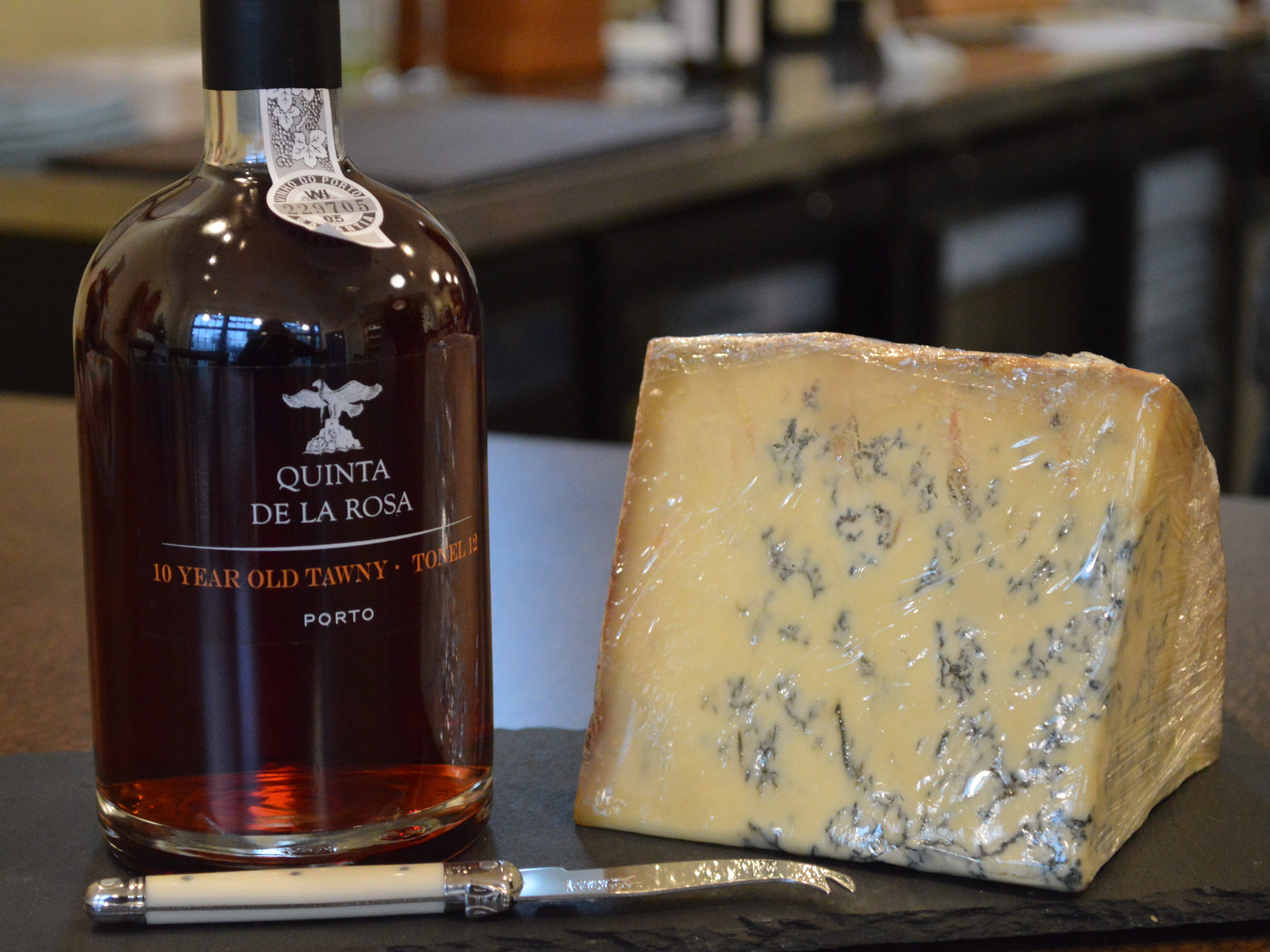 Magyar said a classic pairing would beColston Bassett Stilton blue cheese with a Tawny port wine.